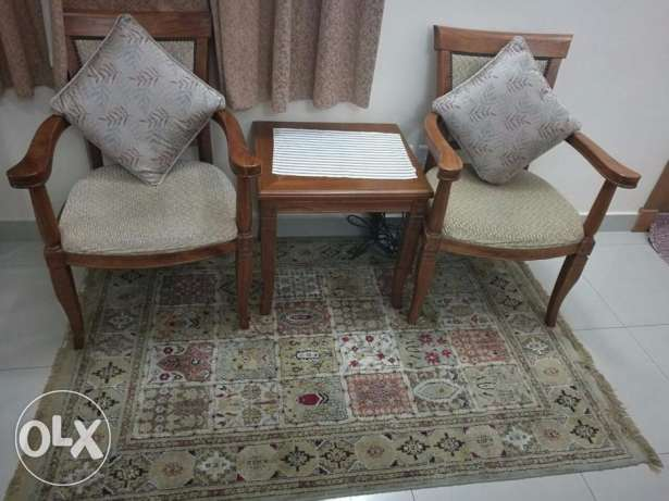 Two person Tea chair Table BHD - 22