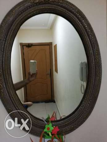 Fancy Oval Mirror