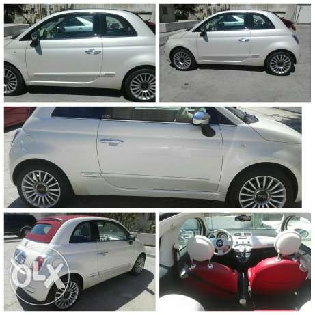 Fiat Convertible 2012 special edition very good condition