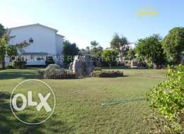 5 Bedroom semi furnished villa with large private garden -