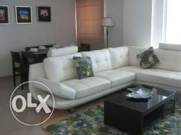 Executive style 1 bedroom furnished apartment with balcony(high floor)