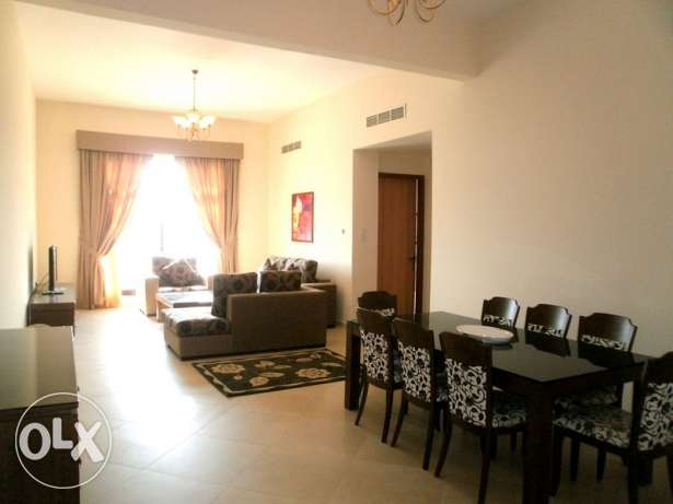7JBA 2br fully furnished apartment for rent close to saudi causeway