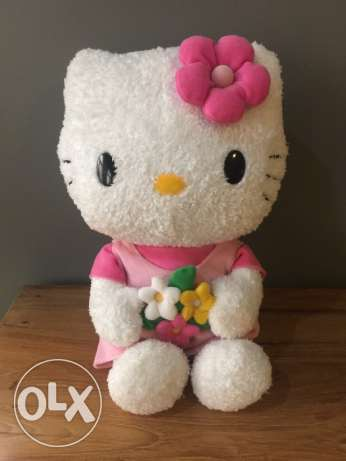 Hello Kitty soft toy & inflatable floatations aid