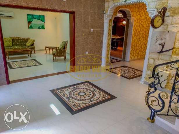 4 bedroom semi furnished villa for rent with private pool,garage