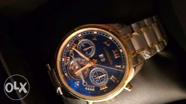 Authentic carnival men's watch