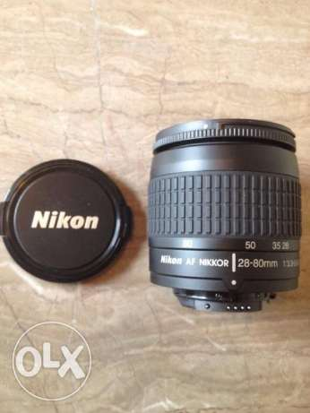 Nikon AF NIKKOR 28-80mm f 3 3-5-6 G zoom Lens Used Black .