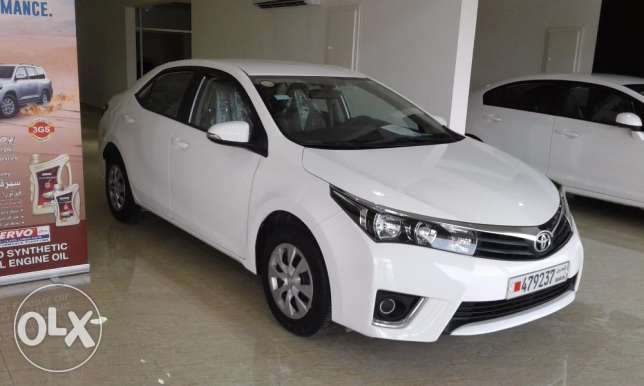 Toyota corolla 1.6XLI (model 2015) and Honda civic 1.8L (model 2014)