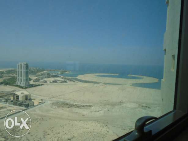 Rented 1 bedroom flat for sale on 25th floor in Seef - Expats can buy.