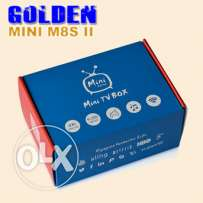Mini M8S II 4K Smart TV Box