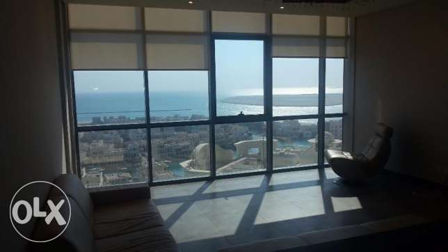 Wonderful Sea view 3 BR apartment in Amwaj