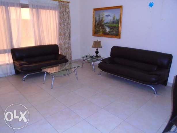 flat for rent 2 bedroom f-furnished in Adliya