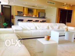 Luxurious sea view apartment for Rent in Tala Amwaj island