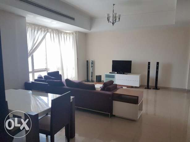 Fully furnished two bedroom flat for rent in Adliya