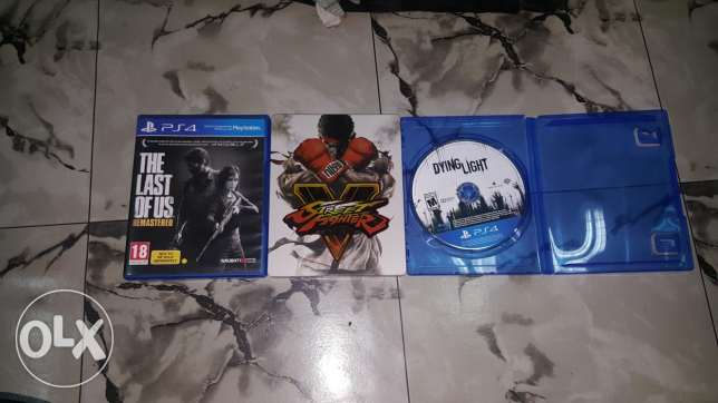 Stret fighter last of us dyinglight