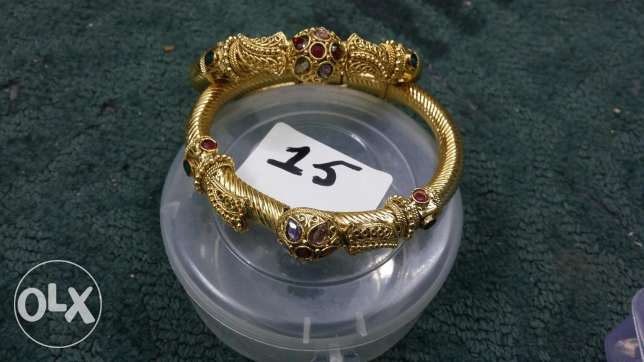 golden artifical bangles Jewerly