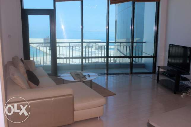 Sea view Elegant 1 BR in Seef / Balcony