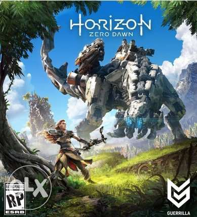 Horizon Zero Dawn PS4 Game (Exclusive) For Sale.