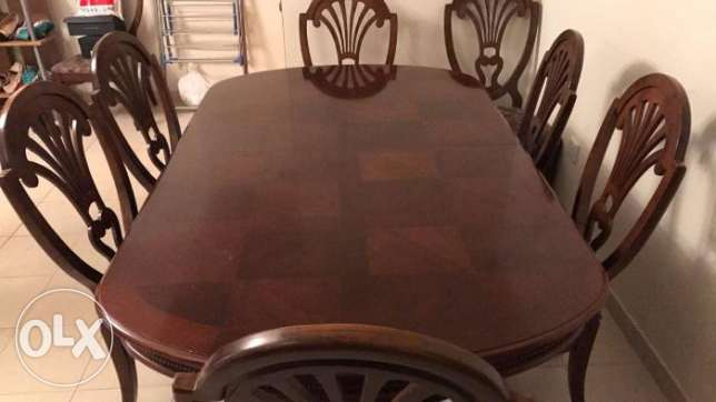 american dining table