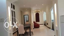 3 bedroom amazing villa in Janabiyah for rent/semi furnished