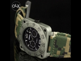 INFANTRY Military Mens Muscular Watch