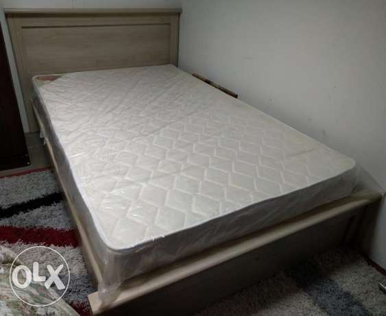 BRAND NEW single BED with new MATTRESS - bought from Home Store