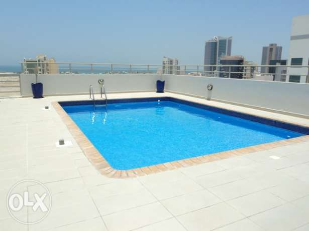 Spacious 2BR Apartment at Adliya: Pool,Gym,Housekeeping: TONY