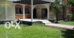Lovely 3 bedroom semi furnished villa for rent close to Alosra - inclu