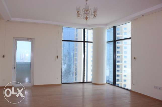 2 Bedroom semi furnished spacious Apartment in Sanabis