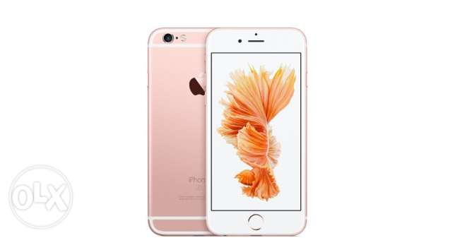 iphone 6s -16 GB Rose Gold