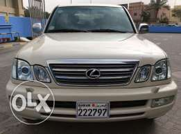 For Sale 2004 Lexus LX470 Bahrain Agency
