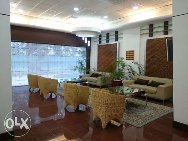 Large beautiful, FULLY FURNISHED, and partment is located near Juffai
