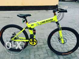 Land Rover Folding Bike