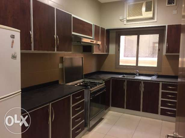 2 Bedrooms Semi Furnished Apartment in New Sehla with Maids Room