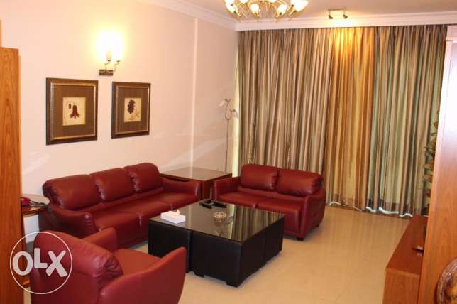 Juffair ! 2 bedroom apartment f-furnished