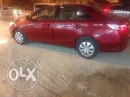 Toyota Yaris model 2015 only 34000km drive almost new free accident