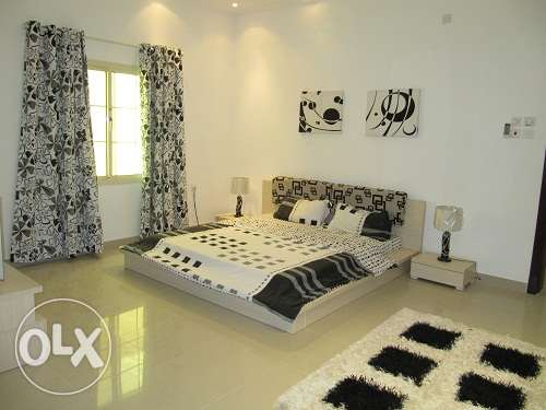 A fully furnished apartment in Busainteen for Rent BD 450 Inclu elect