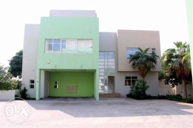 SRA65 5br semi furnished villa with private pool at prime location