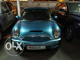 Mini Cooper S with low mileage and good condition
