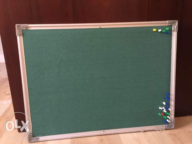Notice board with pins for sale!!