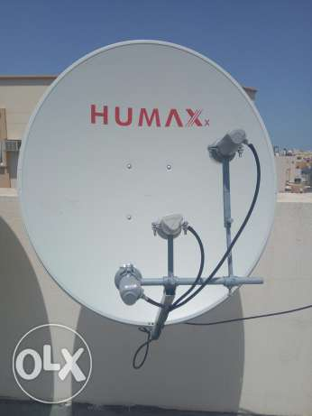 good offer for dish without receiver 3 LNB, mastara, diseqc, cable