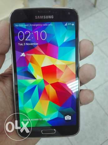 galaxy s5 for sale no scratch no dent like new سترة -  6