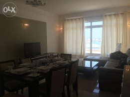 available 3 bedroom apartment at amwaj with a sea view