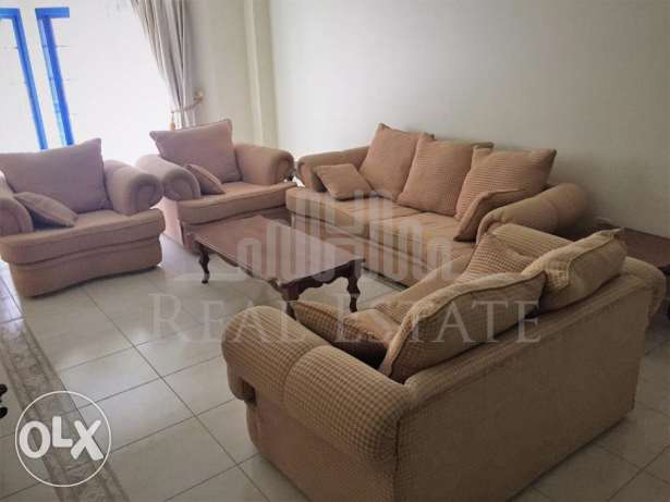 Spacious and semi furnished apartment.