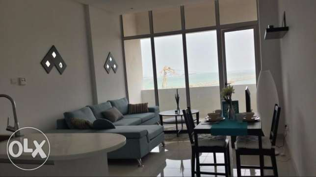 Sea view 1 bedroom flat for sale in Juffair with balcony