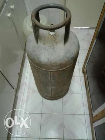 Nader gas cylinder full gas filled