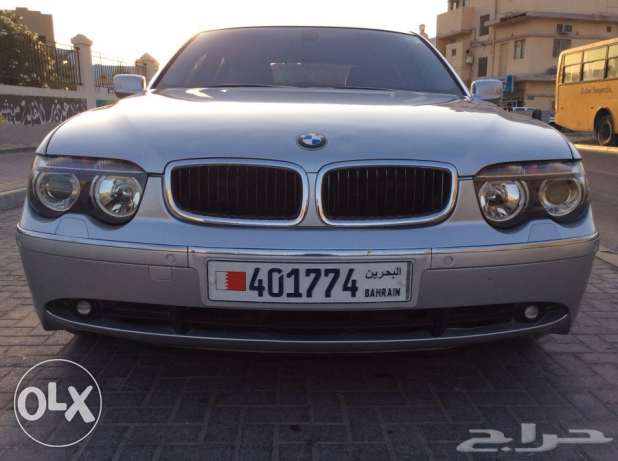 For Sale 2005 BMW 745LI Last Year Of Shape Bahrain Agency