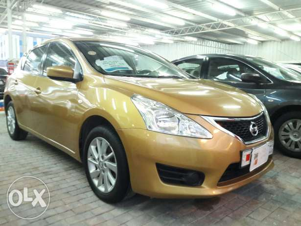 Nissan Tiida HB model 2014 for Sale through Cash price and installment