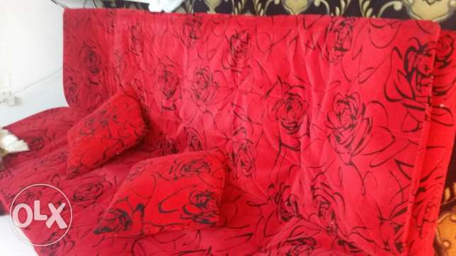 Bed (single), sofa bed,Ac window & others at cheap price