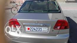 for sale honda civic 2002 neat and clean with full year pasing