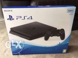 PS4 for sale unopened box new 500 GB